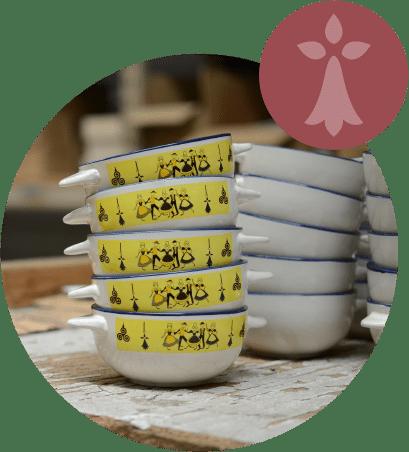 vaisselles personnalisées art ds